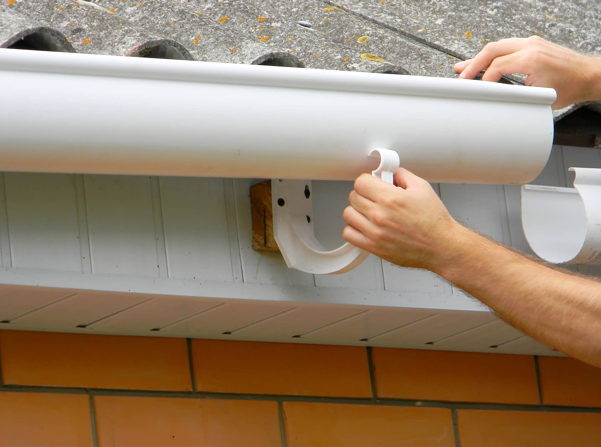 Work with a professional gutter contractor