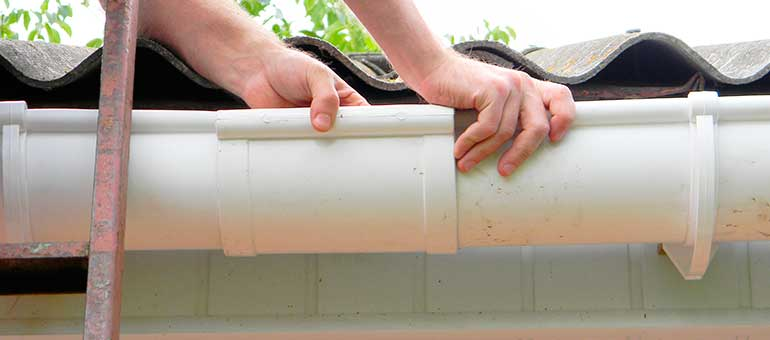 Gutter repair or replacement in Westchester County NY